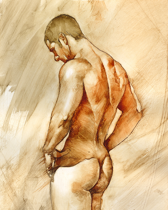 Nude 41 Print by Chris  Lopez