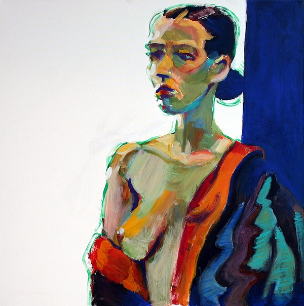 Nude-j Print by Piotr Antonow