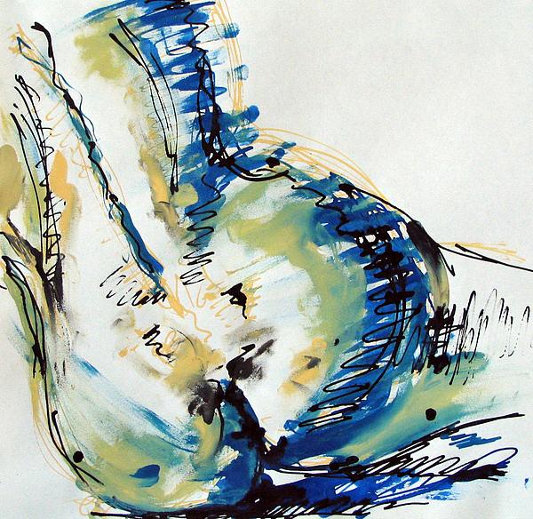 Nude Study Print by Iglika Milcheva-Godfrey