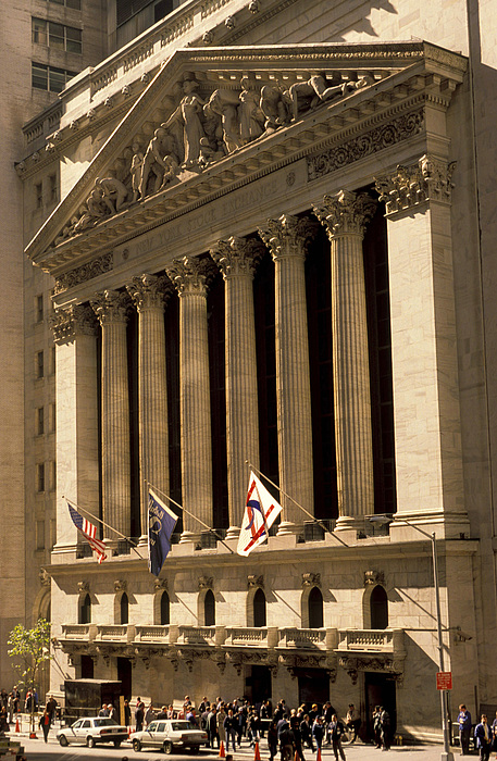 Ny Stock Exchange Print by Gerard Fritz