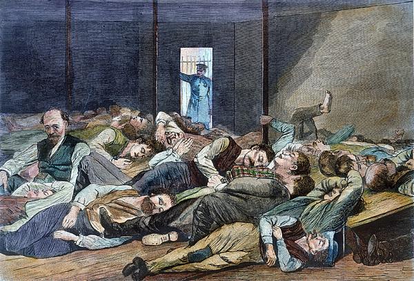 Nyc: Homeless, 1874 Print by Granger