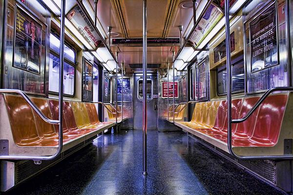 Nyc Subway Print by Kelley King