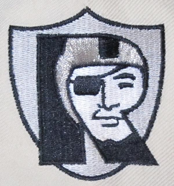 Oakland Raiders Crest Print by Donna Wilson