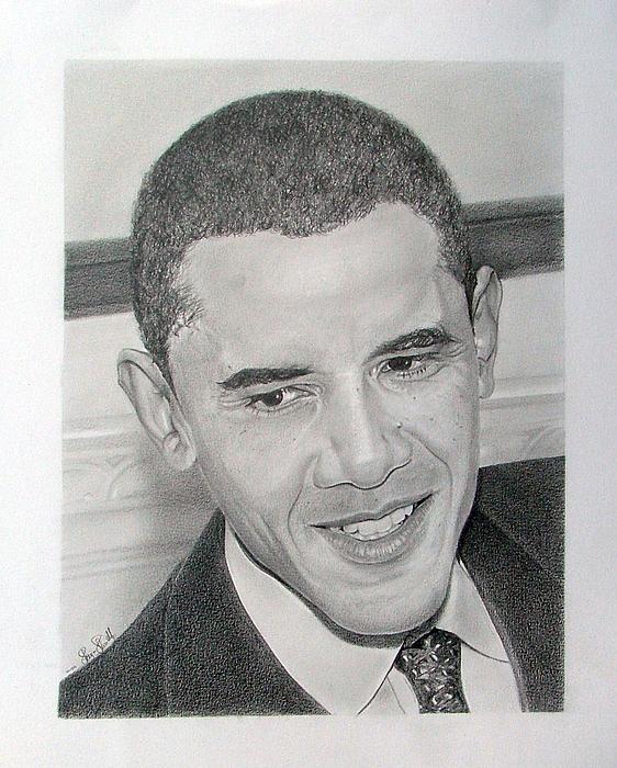Obama Print by Felipe Galindo
