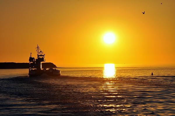 Ocracoke Sunset Print by Josh Craig
