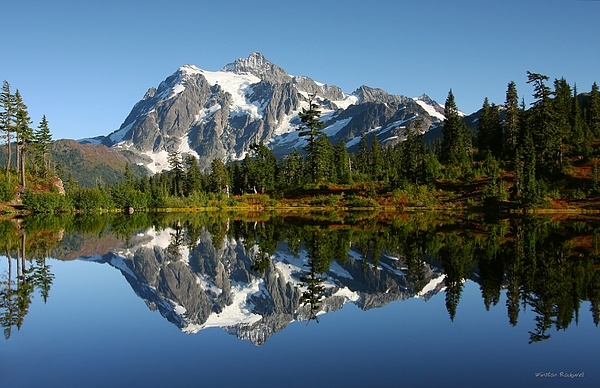 October Reflection Print by Winston Rockwell