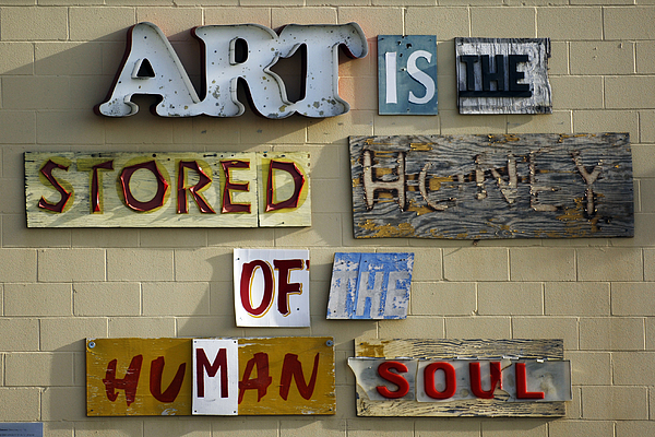 Ode To Art Print by Jill Reger