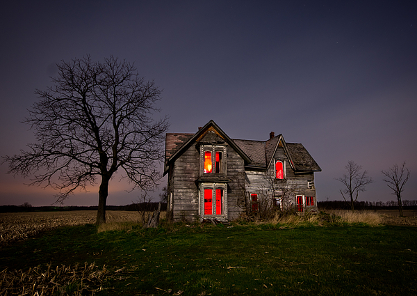 Old Farm House Print by Cale Best