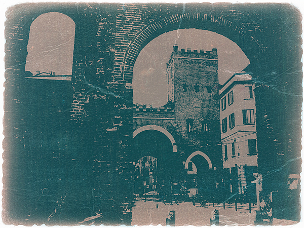 Old Milan Print by Naxart Studio