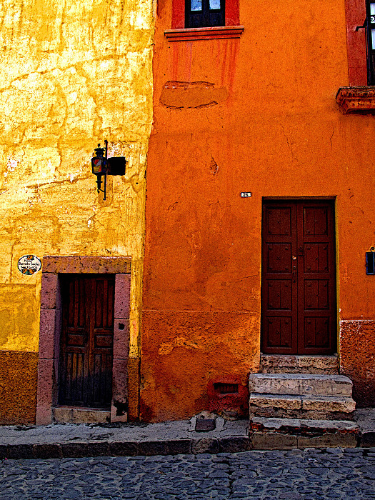 Old Neighbors Print by Olden Mexico