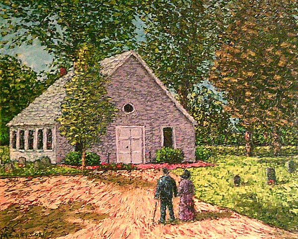Old Stome Church Print by Frank Morrison