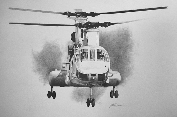 On Approach Print by Stephen Roberson