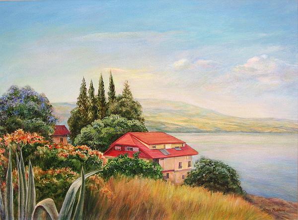 Maya Bukhina - On the shore of the Kinneret