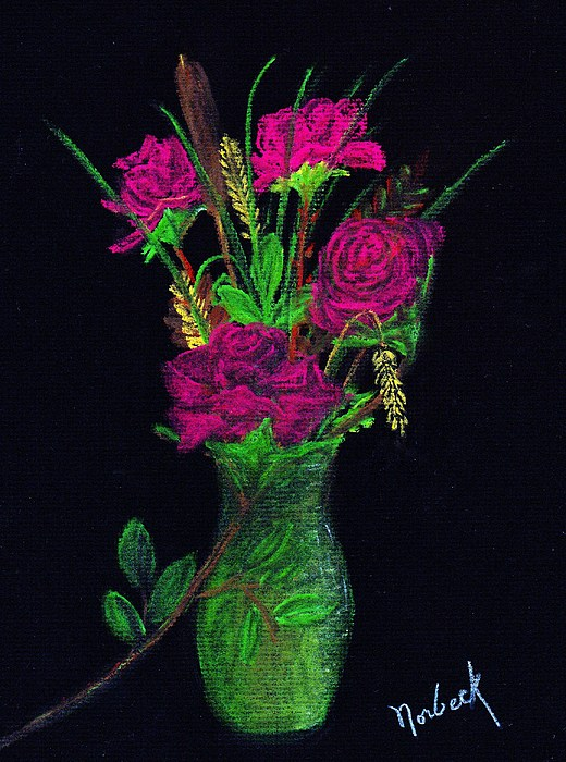 One More Rose Print by Thomas J Norbeck