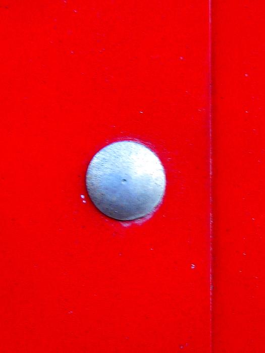 One Silver Dot Print by Allen n Lehman