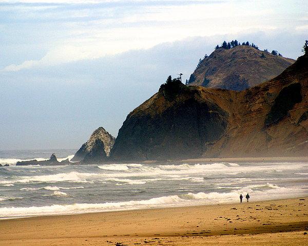 Oregon Coast 12 Print by Marty Koch