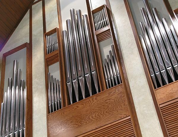 Organ Pipes Print by Ann Horn