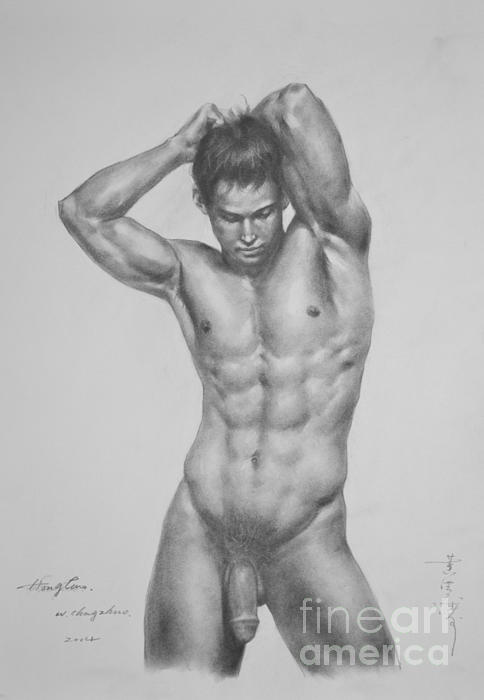 Naked Man Body 34