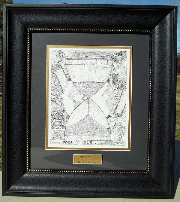 Original-hourglass-framed Print by Glenn McCarthy Art and Photography