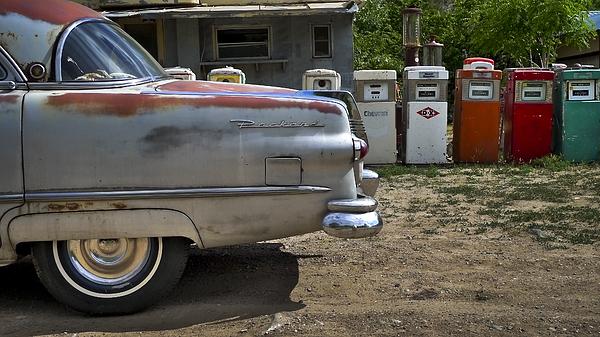 Packard Print by Skip Hunt