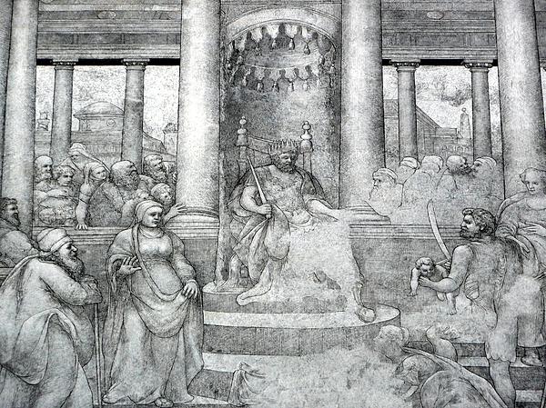 Palace Mural Print by Lori Seaman