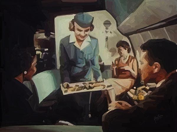 Pan American Airways Fa Print by Nop Briex