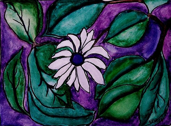 Paradise Flower Print by Marsha Heiken