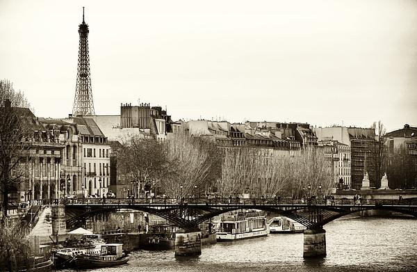 Paris Days Print by John Rizzuto