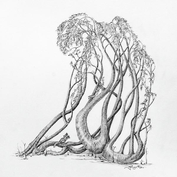 Passing Glances Print by Mark Johnson