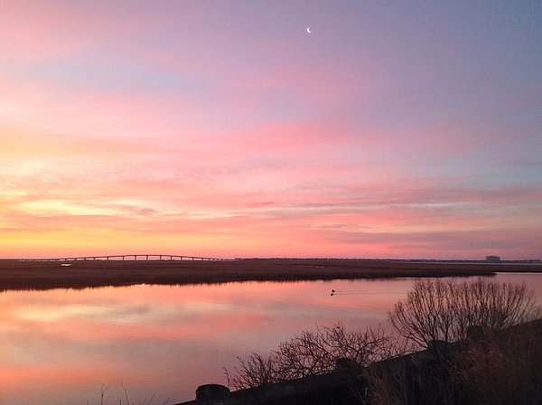 Bruce  Gittleman  - Pastel Sunrise At The New Jersey Shore 91