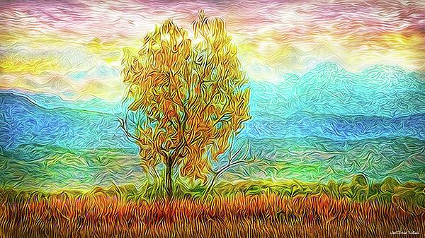 Joel Bruce Wallach - Peace Tree Sunset