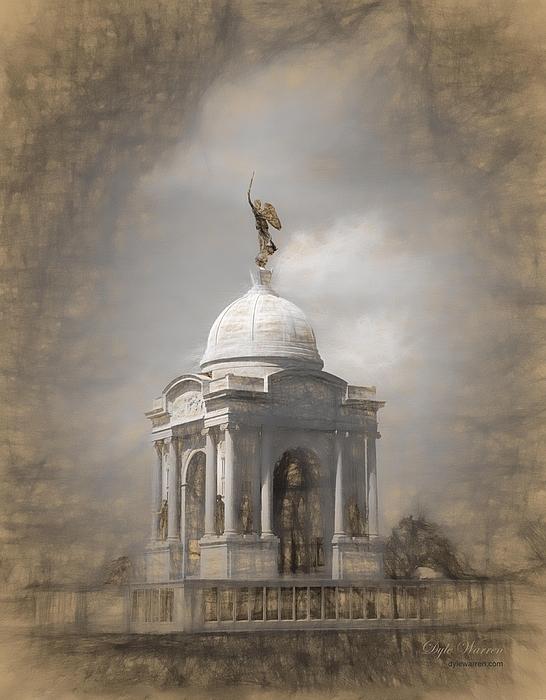 Dyle Warren - Pennsylvania Memorial - Gettysburg
