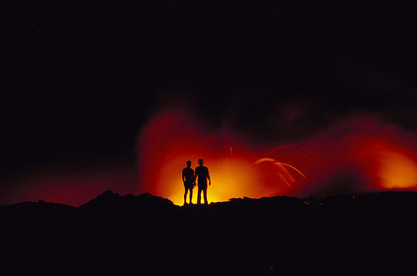 People View Lava Print by Ron Dahlquist - Printscapes