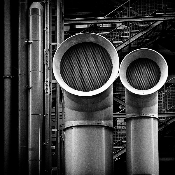 Pipes Print by Dave Bowman