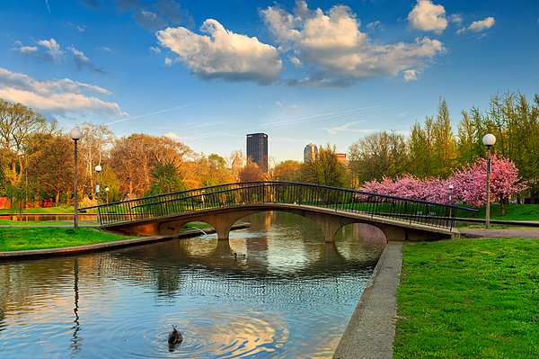 Pittsburgh Allegheny Commons Park West By Emmanuel