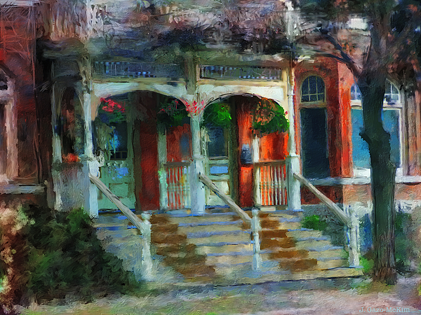 Jo-Anne Gazo-McKim - Porch in the Morning Light
