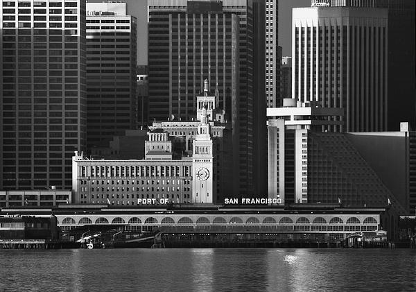 Port Of San Francisco Print by Mick Burkey