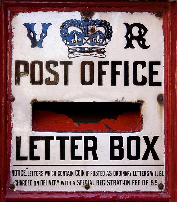 Post Box Print by Jane Rix