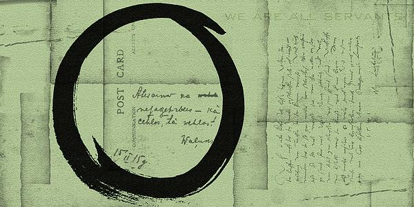 Postcard For Peace Print by Julie Niemela