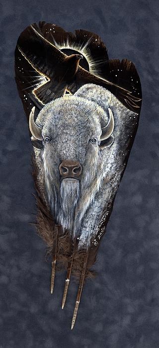 Prairie Eclipse Print by Sandra SanTara