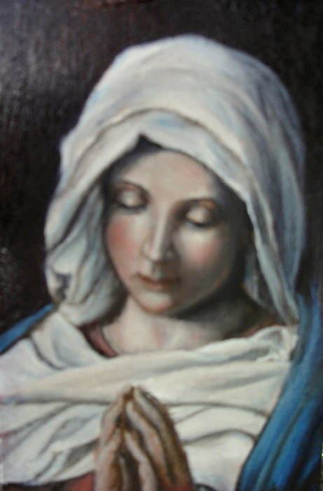 Prayer Print by Sorin Apostolescu