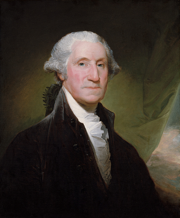 President George Washington Print by War Is Hell Store
