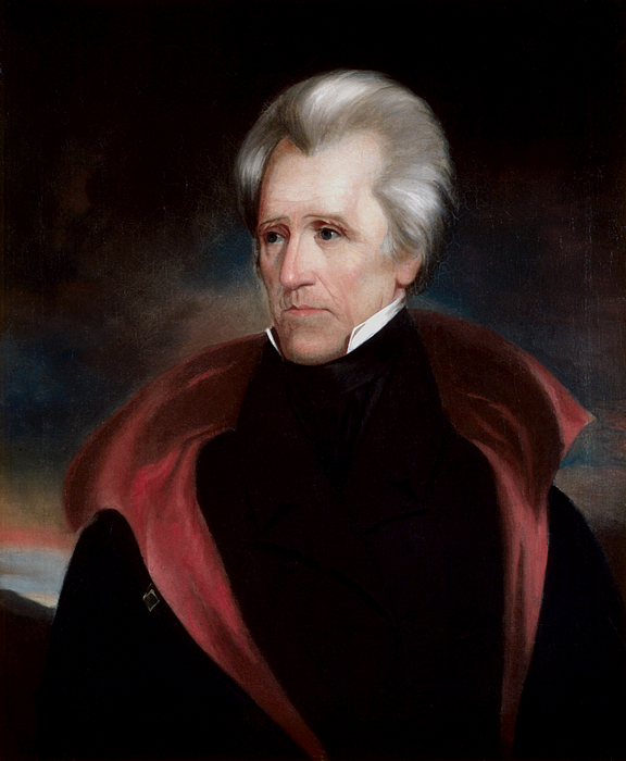 President Jackson Print by War Is Hell Store