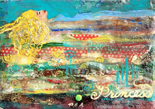 Princess And The Pea Print by Jennifer Kelly