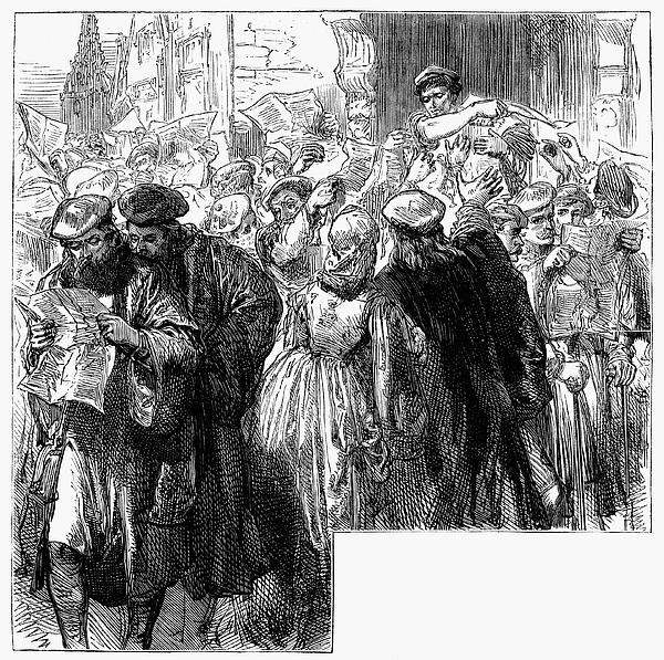 Protestant Reformation Print by Granger