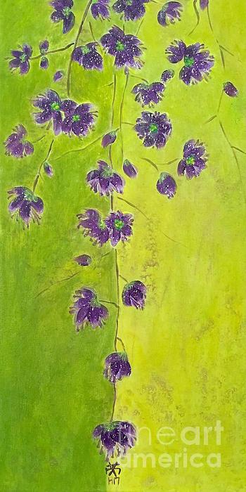 Wonju H - Purple Blossoms
