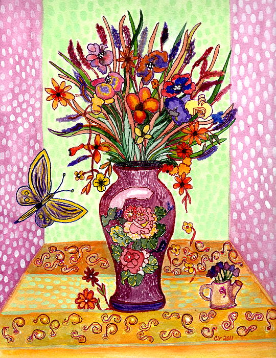 Connie Valasco - Purple Vase