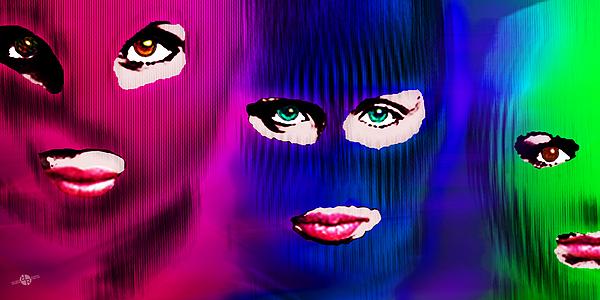 Pussy Riot Print by Tony Rubino