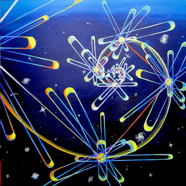 Quantum Print by Morgan  Mandala Manley