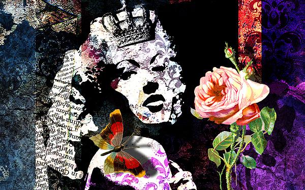 Queen Print by Ramneek Narang